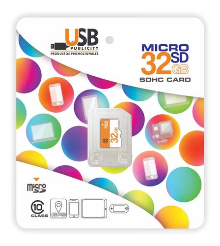 Memoria Micro Sd De 32 Gb Clase 10 Garantía