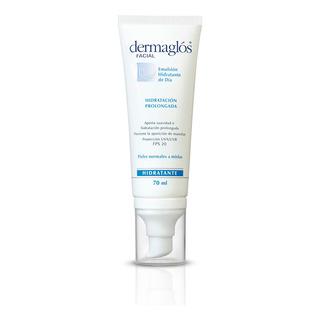Dermaglos Facial Emulsion Hidratante Fps20 De Dia 70ml