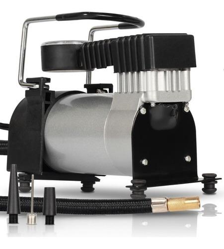 Mini Compressor De Ar 12v Automotivo Pneu Carro Moto Bike