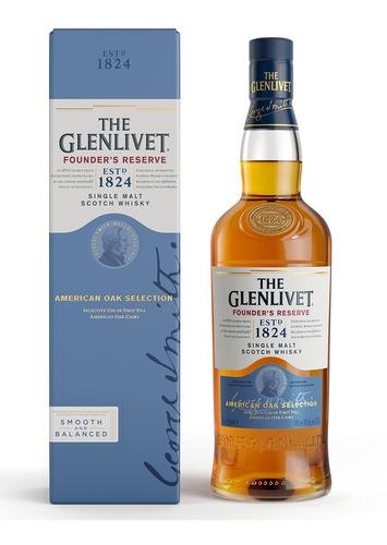 The Glenlivet Founder's Reserve Whisky Escocés 750ml