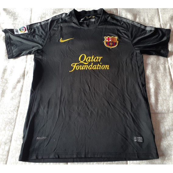 Camiseta Nike Barcelona Negra 2012