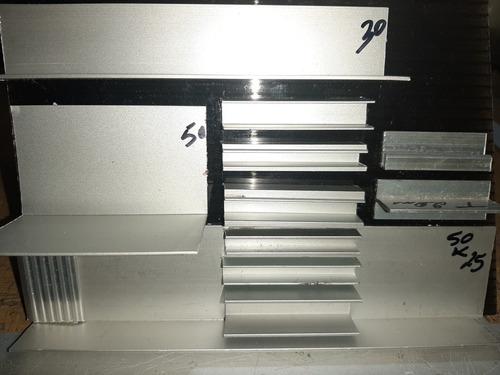 Perfil Aluminio, Angulo Blanco De 15x15, Fraccionado X Metro