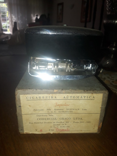Cigarreira Antiga Jaqueline - Fusca Kombi