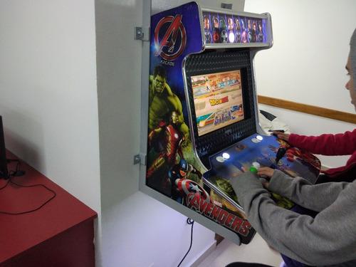 Fliperama Arcade Bartop Multijogos, Acabamento 100% Top !