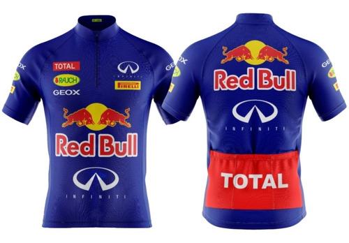 Camisa Ciclismo Mtb Red Bull (p-m-g-gg-3g-4g)