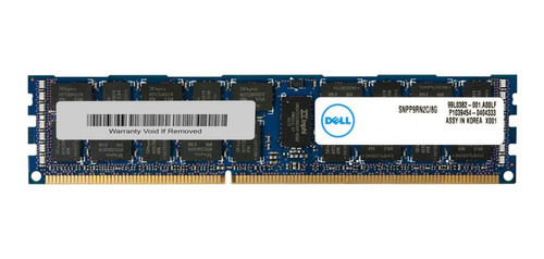Memória Ram  8gb 1 Dell Snpp9rn2c/8g