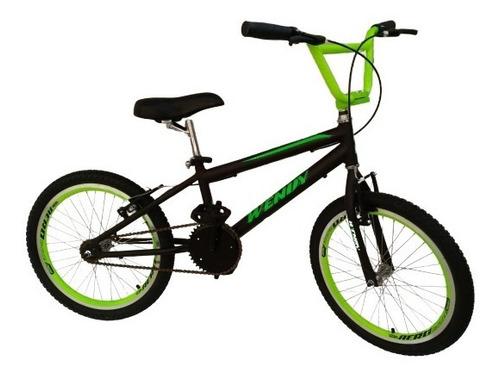 Bicicleta Cross Bmx Aro 20 Infantil Menino Wendy Bike Aero