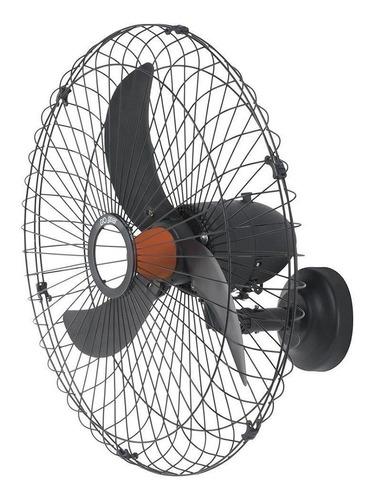 Ventilador De Parede Goar V70p Preto Com 3 Pás, 70cm De Diâmetro 127v/220v