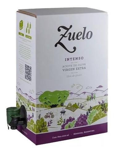Aceite Oliva Zuelo Intenso Virgen Extra 2lts Bag In Box (ws)