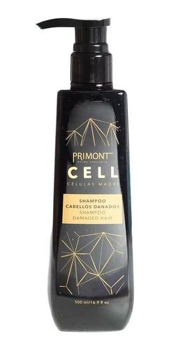 Shampoo Para Cabello Dañado Primont Cell Células Madre 500ml