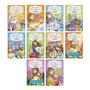 Aprendendo E Colorindo A Bíblia Kit Com 10 Livros