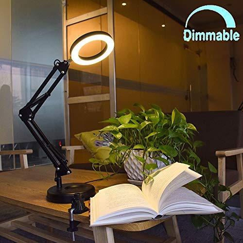 Lampara De Escritorio Con Brazo Flexible Regulable Led Mesa
