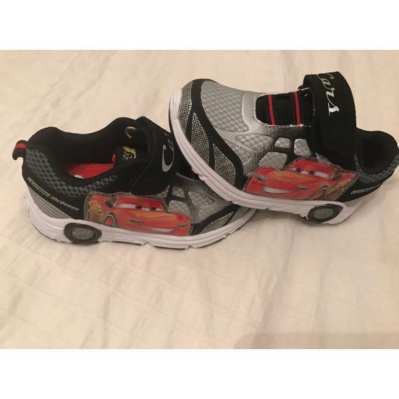 Zapatillas Cars Mc Queen Luz Disney Importadas Usa V.crespo