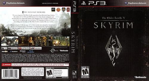 Skyrim Ps3 Fisico Original