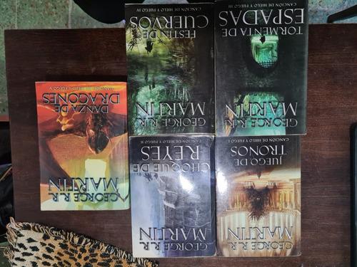 Colección Game Of Thrones Libros X5