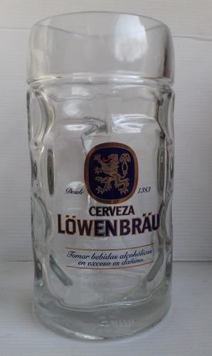 Jarra Cerveza Lowenbrau 0,5 Litro Alemania Nueva Sellada C/u
