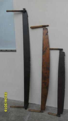 Lindo Antiguo Serrucho Troseador Trozador Mediano 161 Cm