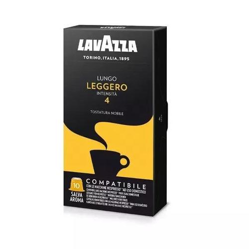 Cápsulas De Café Leggero Lavazza 10u