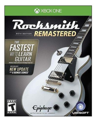 Rocksmith  2014 Edition - Remastered Ubisoft Xbox One Físico