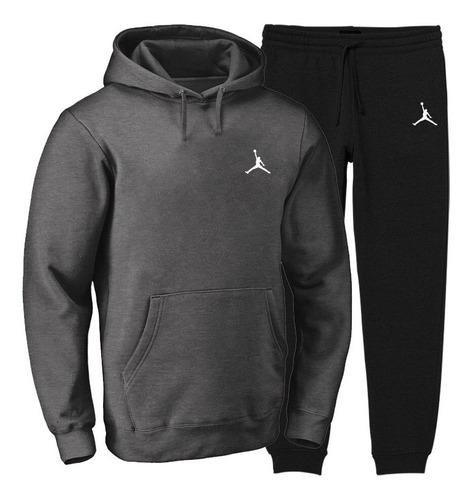 Conjunto Moletom Blusa Calça Frio Abrigo Jordan 2020 Nba