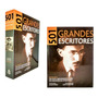 Livro 501 Grandes Escritores História Decoração Sala Casa