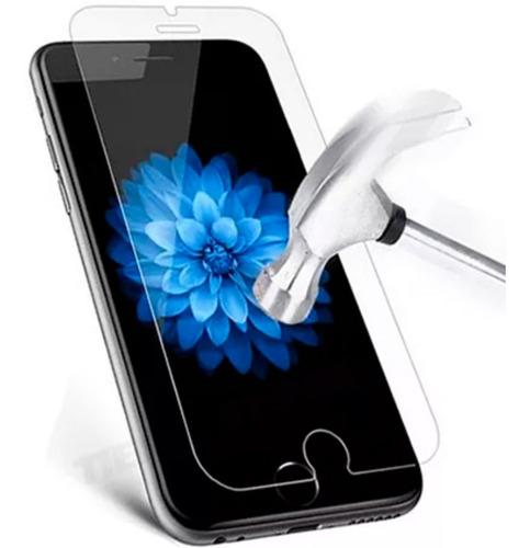 Mica Vidrio iPhone 6 / 7 / 8 Cristal Templado 9h Protector c/ Paños Limpiadores