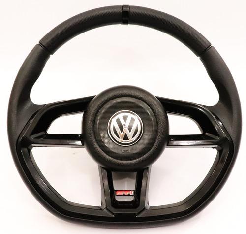 Volante Preto Golf Gti R- Line Com Cubo Gol G1 G2 G3 G4 G5