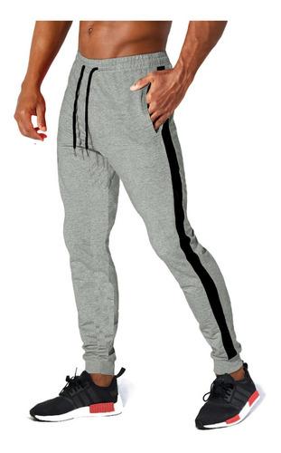 Calça Moletom Skinny Masculina Sport Style Casual Luxo Top
