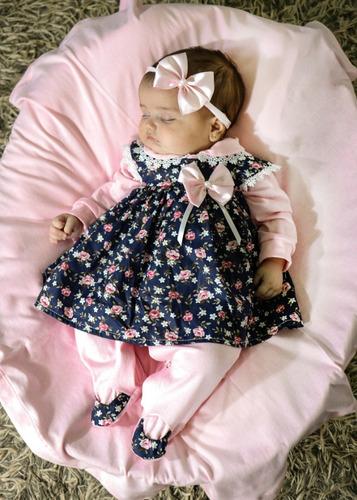 Saída Maternidade Menina Rosa Vanessa