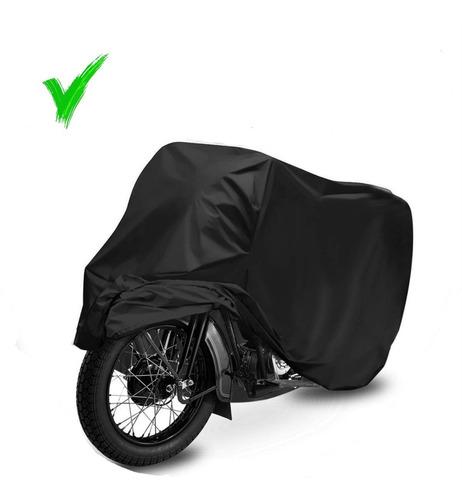 Capa De Cobrir Moto Protetora Sol Chuva Impermeável P M G