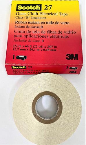Teipe Fibra De Vidrio 27 1/2 X 20 Mts 3m® Tienda Fisica