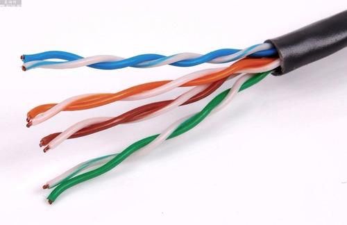 Cable Utp Exterior Interior A Medida Rj45 Categoria 6 Negro