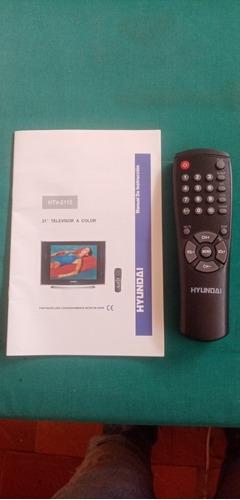 Control Remoto Original Y Manual Para Tv Hyunday Htv-2115