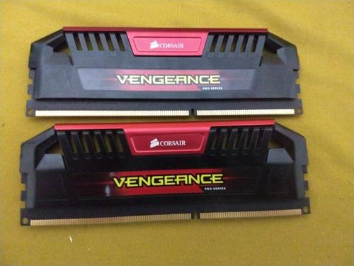 Memoria Ram Ddr3 8gb (2x4) 2400mhz, Corsair Vengeance Pro S