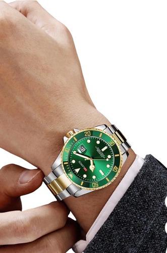 Relógio Masculino Lançamento 2020 Estilo Rolex