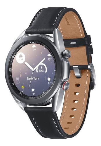 Smartwatch Samsung Galaxy Watch3 Prata 41mm Lte