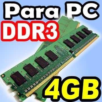 Memoria Ram De 4 Gb Ddr3 1600