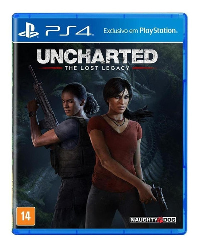 Uncharted: The Lost Legacy Sony Ps4  Físico
