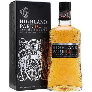 Whisky Highland Park 12 Años Single Malt Con Estuche Escoces