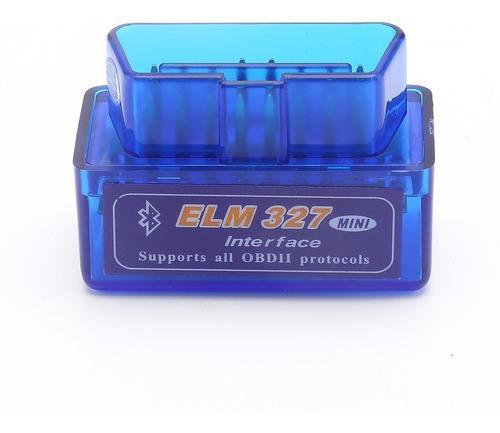 Escaner Elm327 Automotriz Vehicular Bluetooth Obd2 Carro