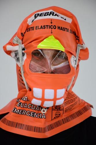 Mascara Debra F4 Antihumo Para Escape De Incendios Df4