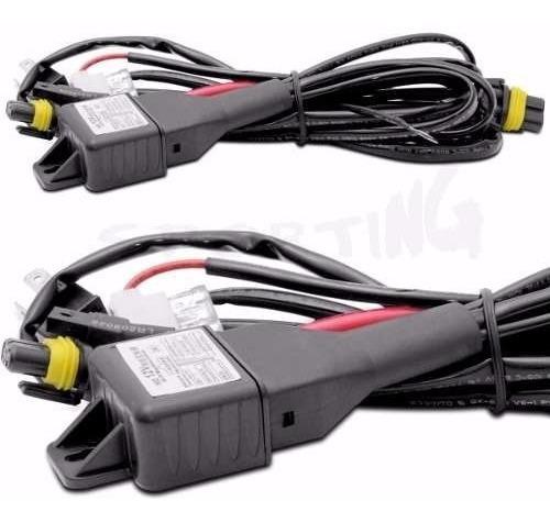 Cableado Kit Bixenon H4 H13 9007 Repuesto Relay Con Fusible