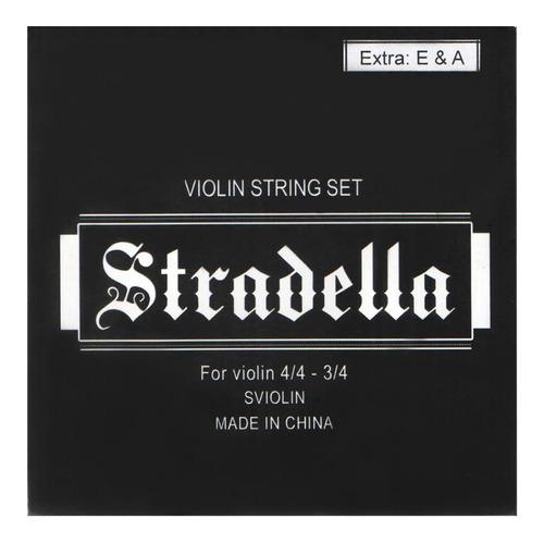 Encordado Stradella Para Violin 3/4 O 4/4
