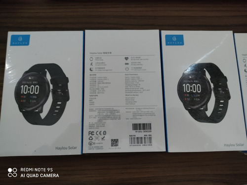 Relógio Haylou Solar Ls05 Global Original Pronta E. Promocao