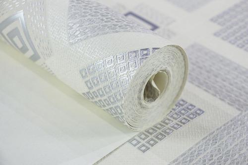 Papel De Parede Textura Importado Branco 5m² Top Original