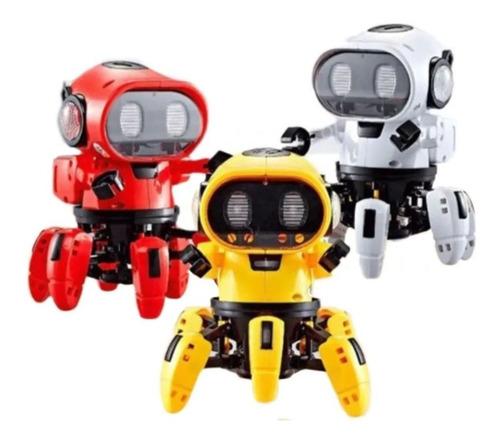 Brinquedo Robô Cyber Bat Aranha Som Luz Meninos Meninas