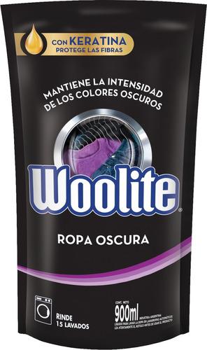 Jabón Líquido Woolite Ropa Oscura Repuesto 900ml