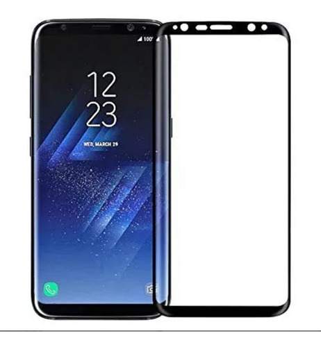 Vidrio Templado 3d Samsung S8 Envio Gratis
