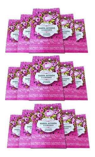 Kit Com 15 Harpas Cristã Hinos Louvores Letra Hipergigante