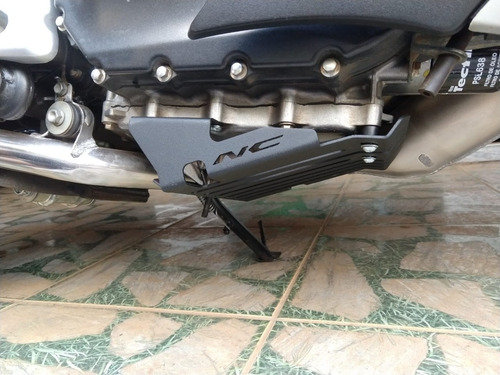 Protetor Do Carter Upper Para Motor Honda Nc750 Nc750x